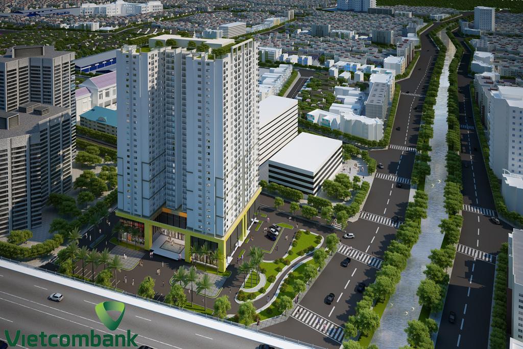 Vietcombank hỗ trợ vay vốn mua nhà Tứ Hiệp Plaza